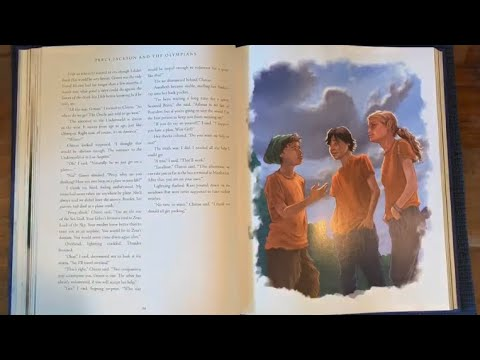 Chapter Book Read-a-long: Percy Jackson—Chapter 9