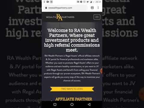 RA Wealth Partners- How Do I Promote Regal Assets ? Nothing Is Working (Regal Assets)