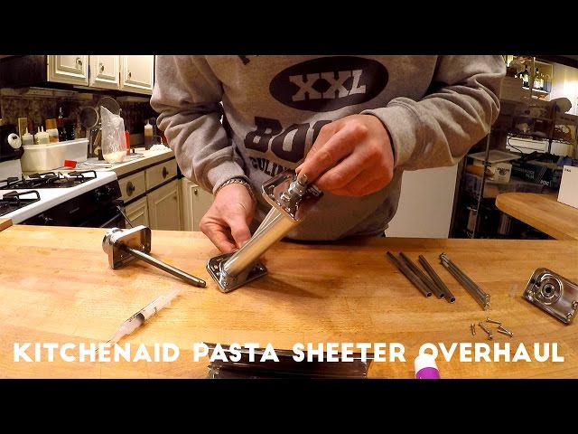 BOKU SUPPER CLUB - KitchenAid Pasta Sheeter Ovehaul