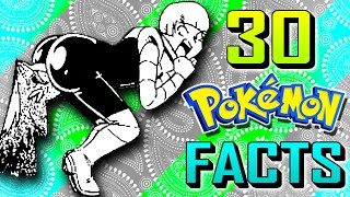 30 BEST Pokemon Facts and Trivia! | Pokemon FEET Special #1