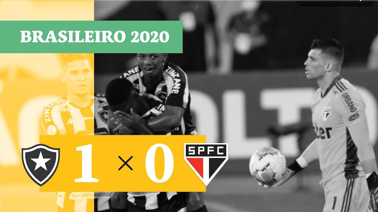 Ботафого  1-0  Сан-Паулу видео