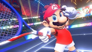 Mario Tennis Aces - Online Tournament | Unlocking ALL CHARACTERS! [Nintendo Switch | Episode 1]