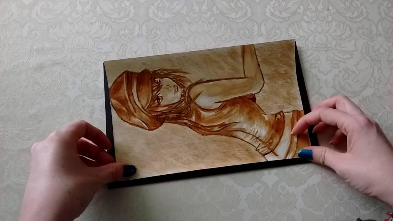 cómo enmarcar tus dibujos, fotos o pinturas - YouTube