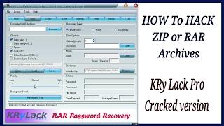 How To hack Zip or RAR file password 100 % true-in one minute