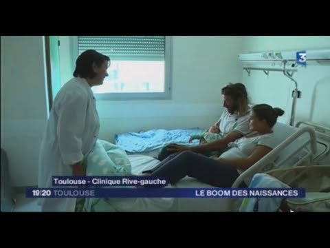 La maternité Rive Gauche mise à l'honneur par France 3