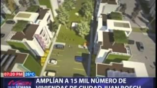 Amplían a 16 mil número de viviendas ciudad Juan Bosch