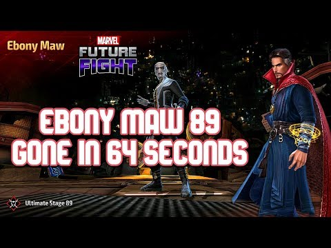 [WBU] EBONY MAW 89 GONE IN 64 SECONDS | MARVEL FUTURE FIGHT