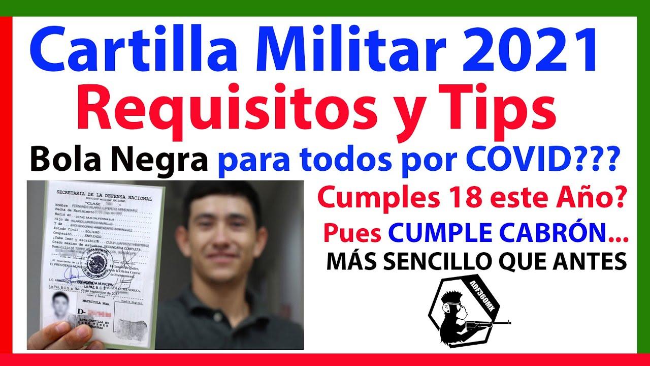 SEDENA México - Cartilla 2021 - Proceso y Tips para Chavos y Padres.