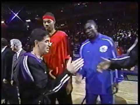 2000 NBA AllStar Game Starting Lineup Introductions
