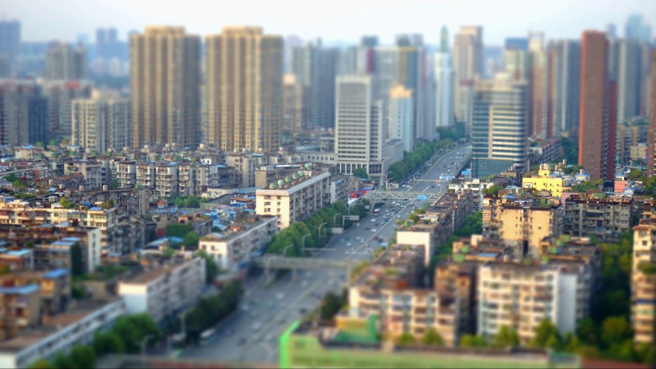 Sony A7m2 Tilt Shift Timelapse 2017 In Wuhan Youtube