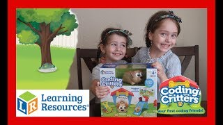 Coding Critters Ranger & Zip Stem Preschool Toddler Toys By Learning Resources
