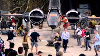 The Force Awakens behind the scenes sneak peek from Comic-Con Brazil!