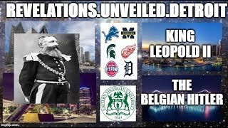 king Leopold II.  The BELGIAN HITLER.