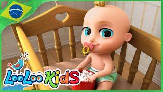 Johny Johny Yes Papa Português - Música Infantil | LooLoo Kids Português