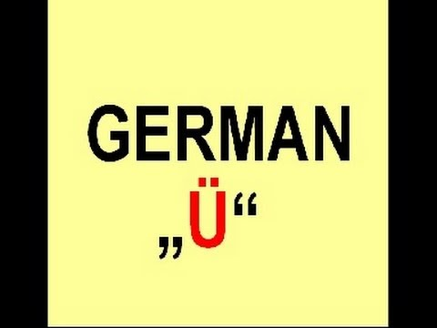 "How to pronounce the german Umlaut ""ü"""
