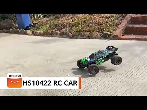 HS10422/10424/10423 1/8 RC Car Full Proportional control Big Foot- Banggood RC Store