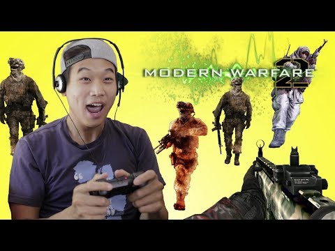 THAT'S RACIST | Call of Duty Modern Warfare 2 with Ki Hong ...