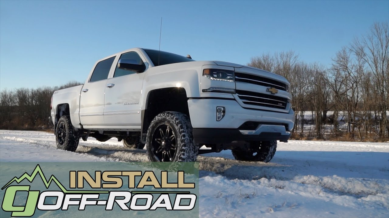 "Silverado Fabtech 6"" Lift Kit How To Install 