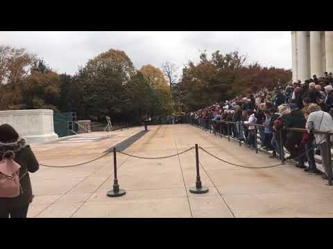 Veterans from York visit Arlington National Cemetery