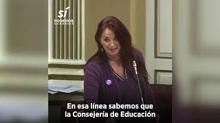 María del Río exige al Gobierno medidas educativas a corto plazo contra las violencias machistas