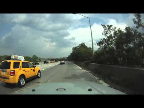 Driving to Jacob Riis Beach from Queens, New York City