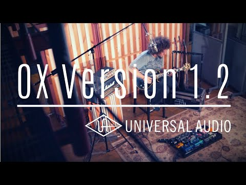 HIGH GAIN GUITAR TONES Universal Audio OX Version 1.2