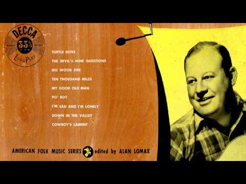 Burl Ives  08  Down in the Valley