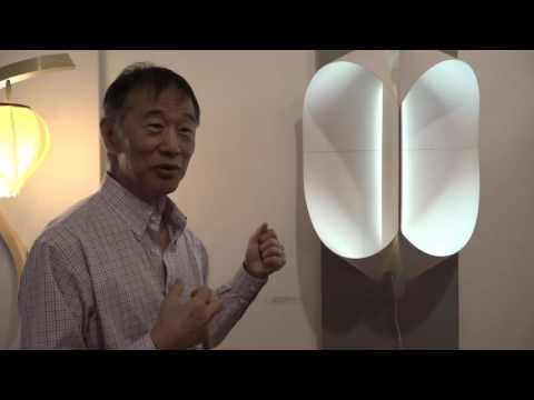 Po Shun Leong on his Double ovoid wall light