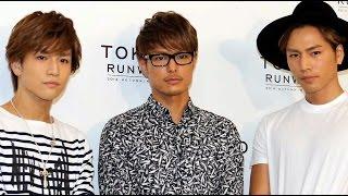 三代目 J Soul Brothers 登坂広臣「ホットロード」ヒットもメンバーの反応は…「東京ランウェイ 2014 AUTUMN/WINTER」 #The third J Soul Brothers