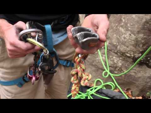 Rock Climbing Basics: How To Tie Yourself In & Belaying Basics