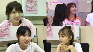 [ENG SUB] 180810 AKB48 SR (Taniguchi Megu, Shimizu Maria, Yumoto Ami) Watch Produce 48 EP 09 [3/4] AKB48 検索動画 28