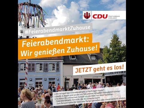 #FeierabendmarktZuhause - Der Virtuelle Feierabendmarkt Der CDU Dinslaken