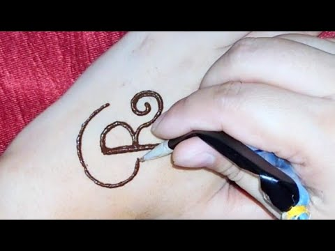 Download latest ''R'' letter mehndi tattoo || R alphabet henna mehndi tattoo easy || henna tattoo