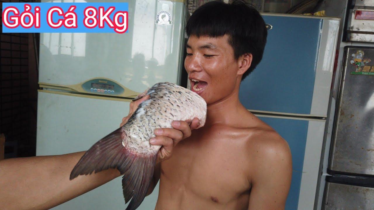 Gỏi Cá Trắm Khủng Siêu Ngon . Pham Hiep Vlog