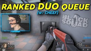 *SURPRISE!* Ranked Duo Queue w/ my guy cheef~!! (Black Squad)