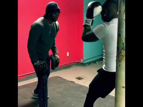 Martin Wright Boxing Class