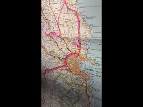 Ireland Map Tour