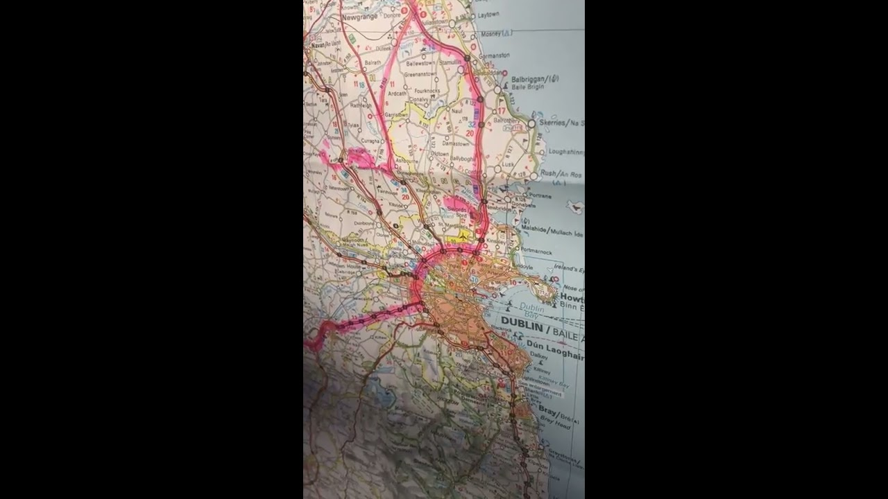 Youtube Map Of Ireland.Ireland Map Tour