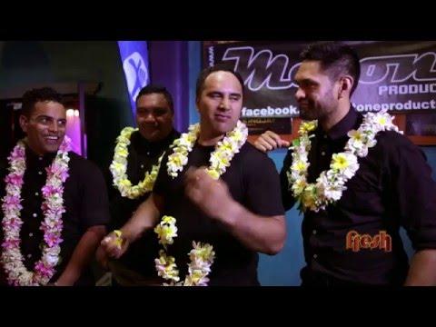 Modern Maori Quartet Show in Rarotonga Cook Islands