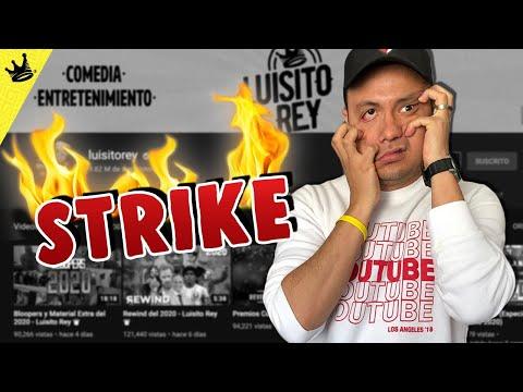 Este YOUTUBER Nos Puso Un STRIKE - Luisito Rey ♛