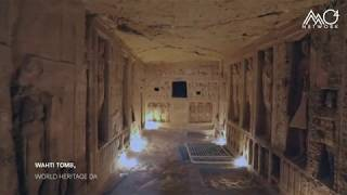 Minister of Tourism & Antiquities Takes Us InTo the Tomb of Wahti