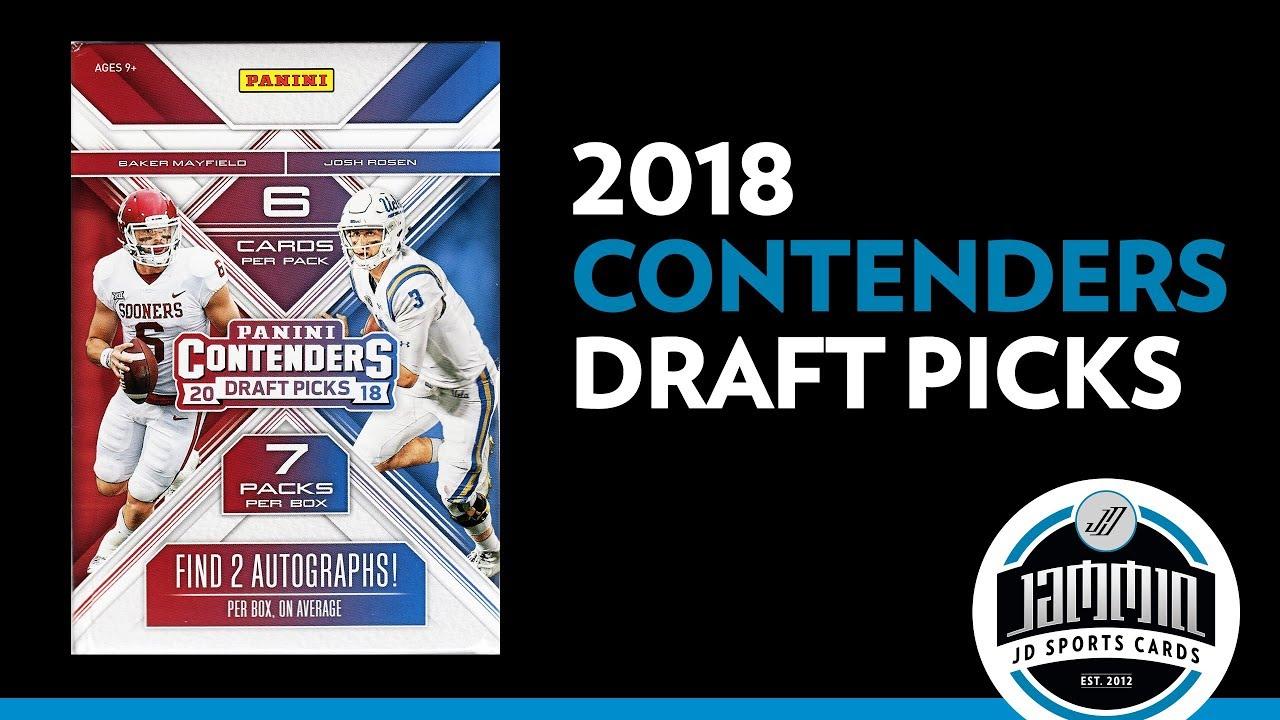 2018 Panini Contenders Draft Picks Football Blaster Box Break. Jammin JD  Sports Cards 1e3a484ff