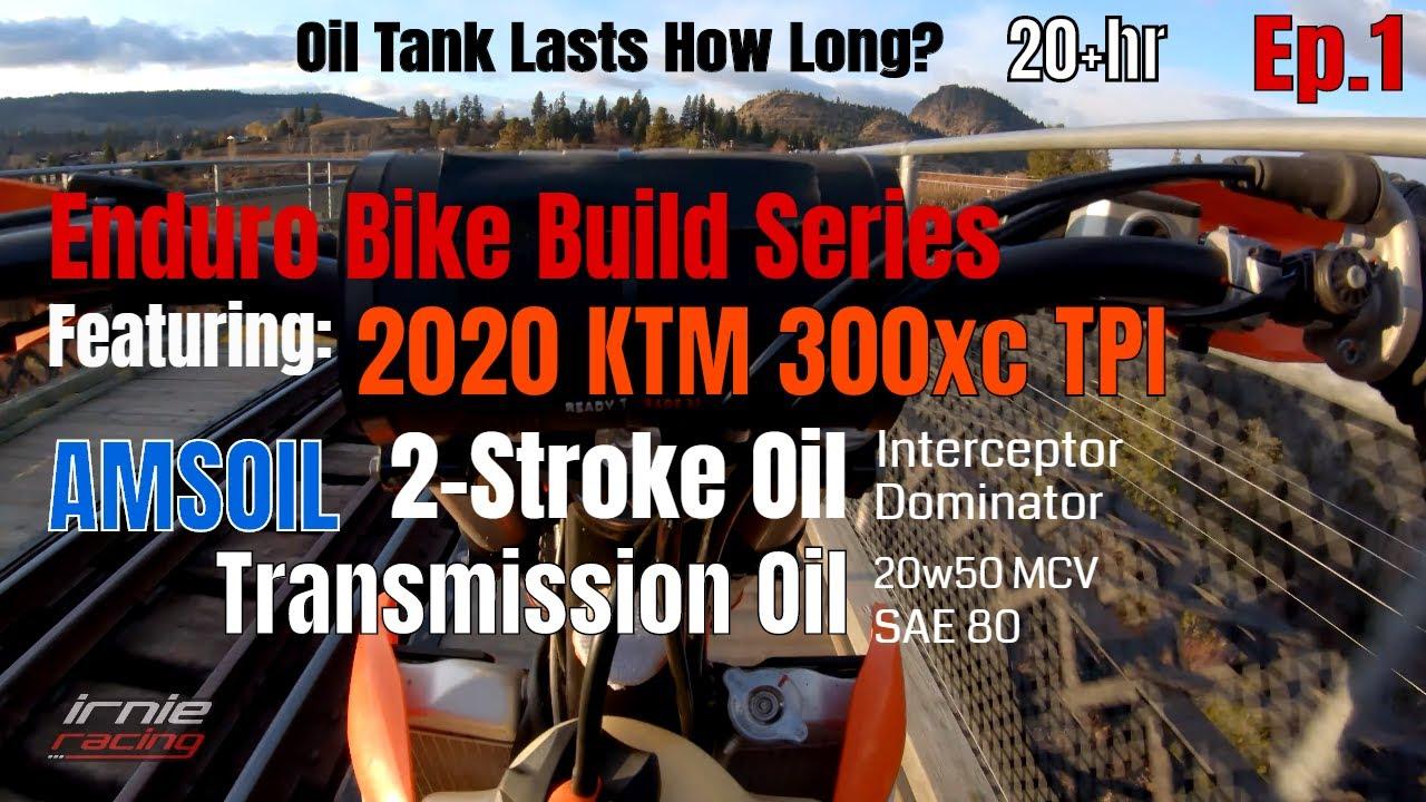 Amsoil 2 Stroke Oil Transmission Oil 2020 Ktm 300xc Tpi