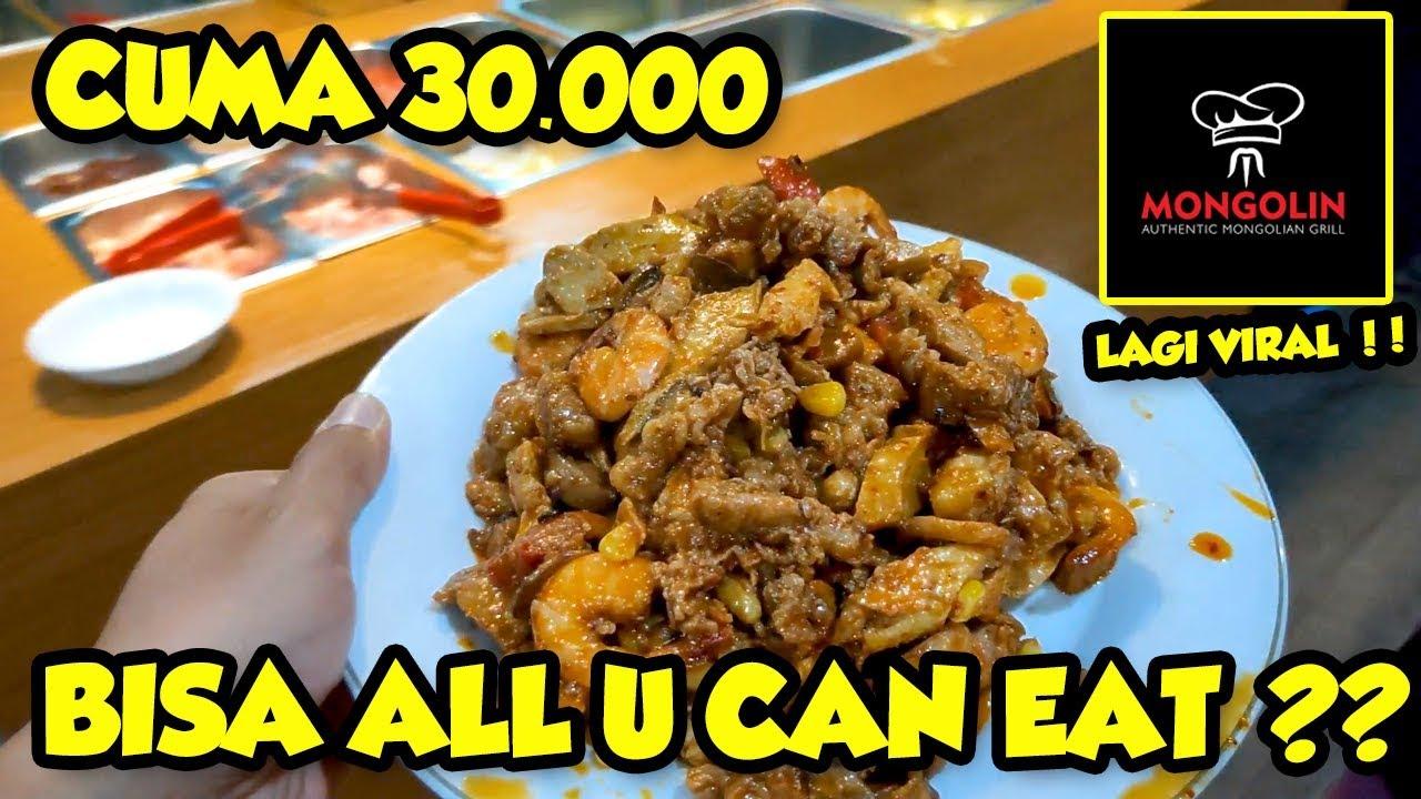 Viral All U Can Eat Terbaik Review Mongolin Authentic Mongolian Grill Kemang Jakarta Youtube