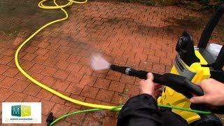 Karcher, nettoyeur haute pression pour l'extérieur - Karcher pressure washer for outdoor