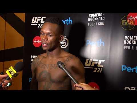 UFC 221 Israel Adesanya post fight interview - Octagon debut felt like 'deja vu'