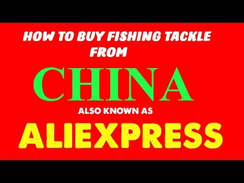 HOW TO BUY FISHING TACKLE FROM CHINA!(ALIEXPRESS)