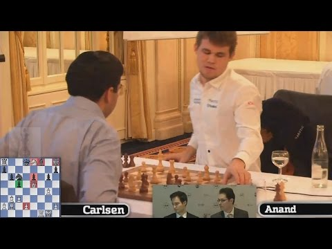 🔥 GM Magnus Carlsen vs GM Viswanathan Anand 📢 Zurich Chess C