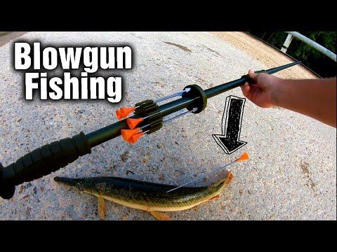 Blowgun Fishing Gar