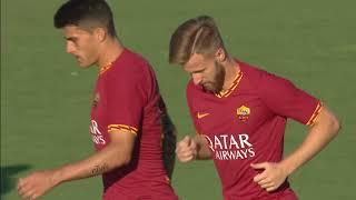 AS Roma - Trastevere Calcio | 10-1 | Gol & Highlights | Friendly Match 20/7/2019